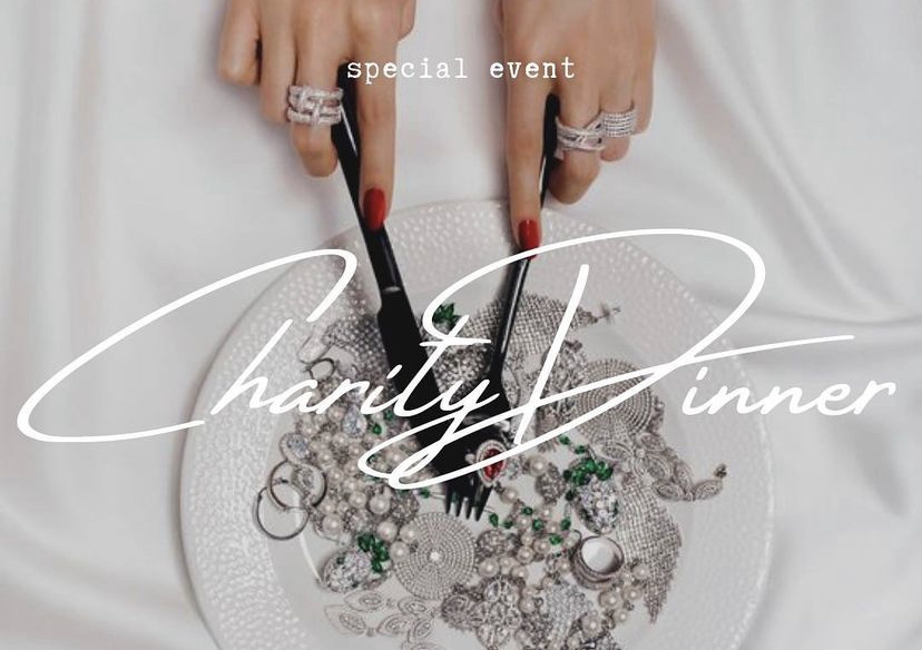 CHARITY DINNER:        «О бриллиантах/О бизнесе/О любви»
